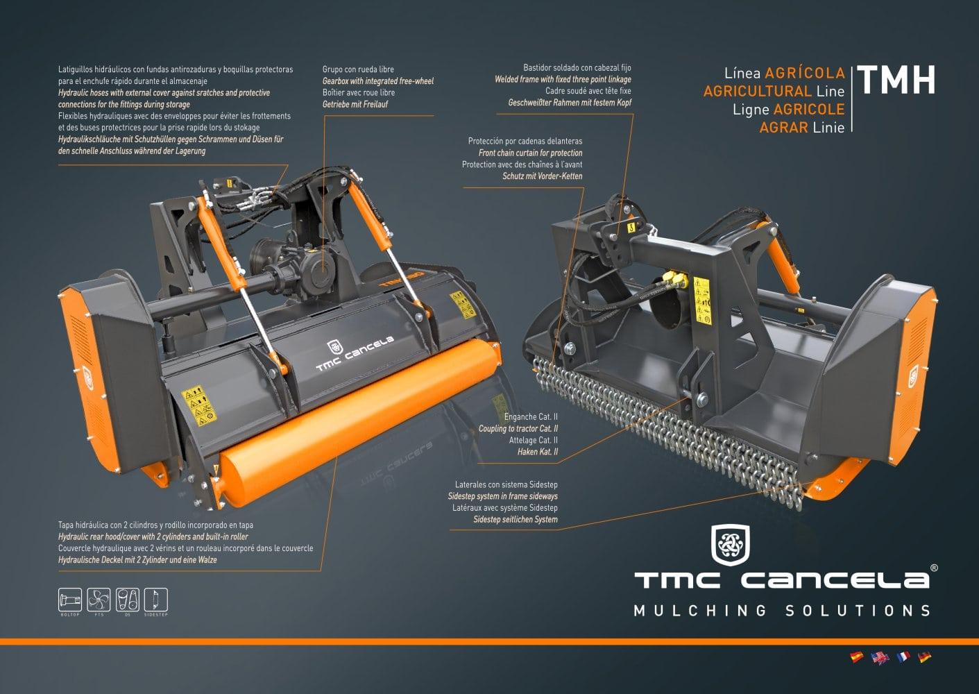 TMH - TMC CANCELA Maquinaria Agricola Cancela S.L. - PDF Catalogue ...
