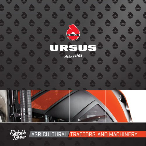 AGRICULTURAL TRACTORS AND MACHINERY