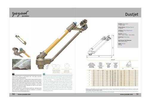DUST JET Product Catalog