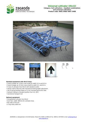 Universal cultivator (45x12)