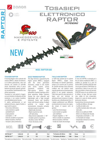 Edge trimmer Raptor