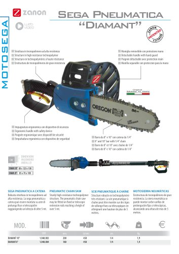 Pneumatic chain saw Diamant