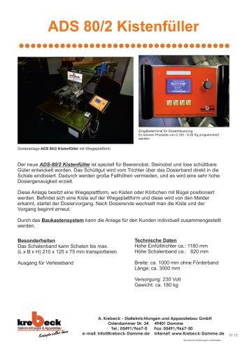 ADS 80/2 Crate Feeder
