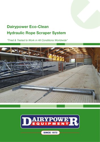 Dairypower Eco-Clean - Hydraulic Rope Scraper System