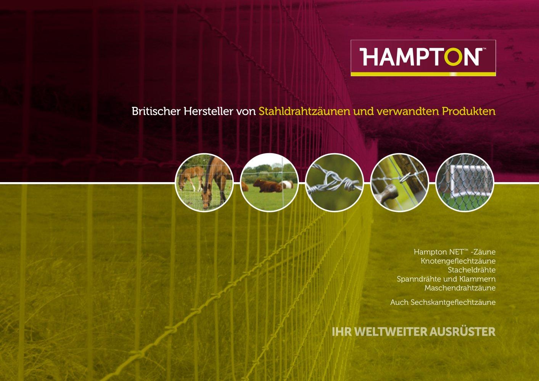 Zuverlassige Drahtz Aune Aus Grossbritannien Hampton Steel Ltd