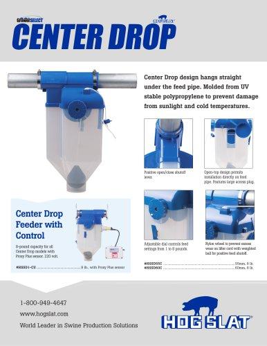 GrowerSELECT® Center Drop Sow Drop Feeder Flyer - Hog Slat - PDF