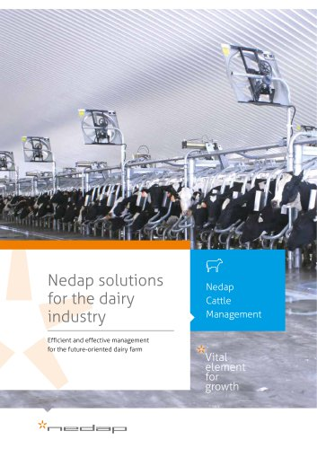 Nedap solutions for the dairy industry