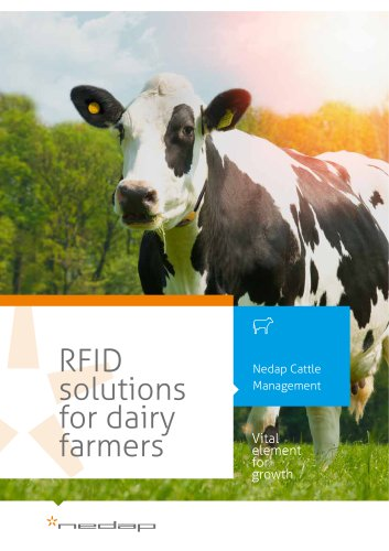 RFID solutions for dairy farmers