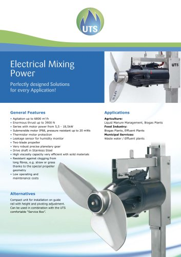 Electrical Mixing Power