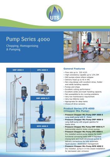 Pump Series 4000