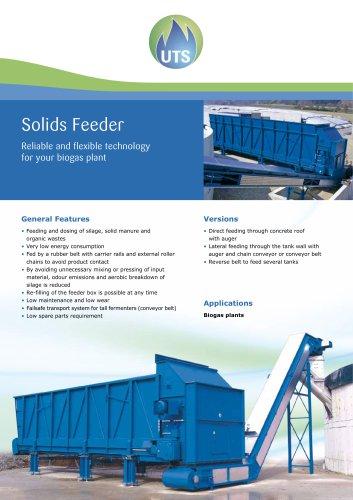 Solids feeder