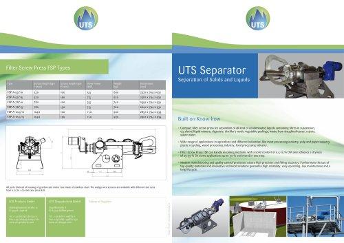 UTS Separator
