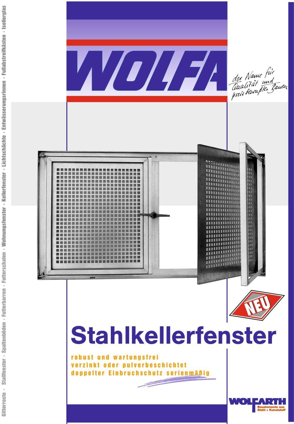 stahlkellerfenster - wolfa friedrich wolfarth gmbh & co. kg - pdf
