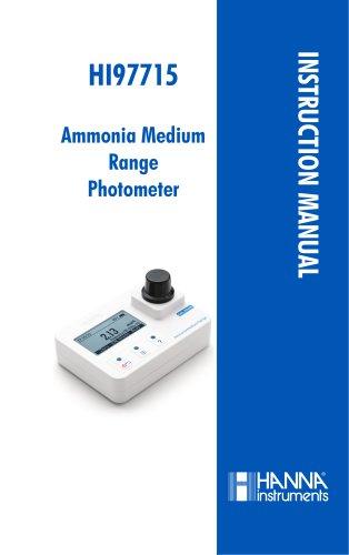 Ammonia Medium Range Photometer