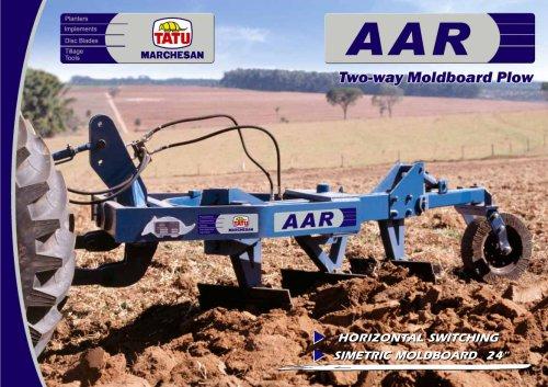 AAR - TWO-WAY MOLDBOARD PLOW