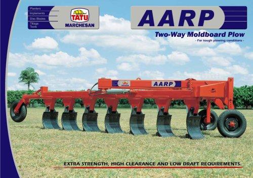 AARP - ON-LAND REVERSIBLE MOLDBOARD PLOW