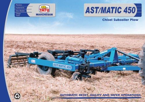AST/MATIC 450 - CHISEL SUBSOILER PLOW