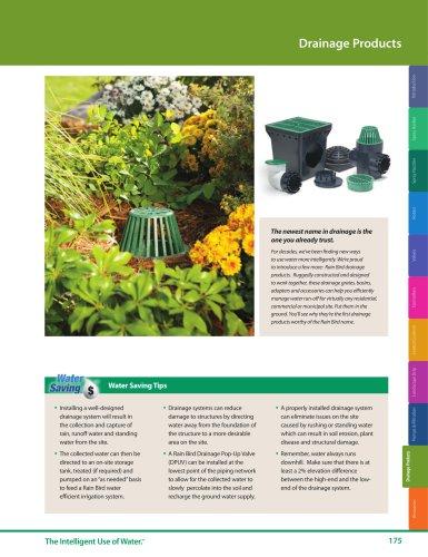 Drainage -- 2018 Rain Bird Landscape Irrigation Products Catalog