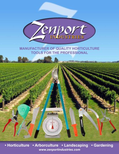 Zenport catalogue