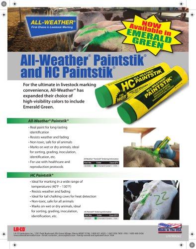 PAINTSTIK® Livestock Marker Emerald Green
