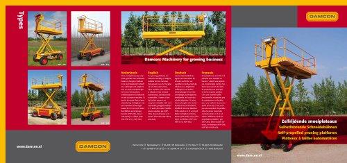 Damcon pruning platforms