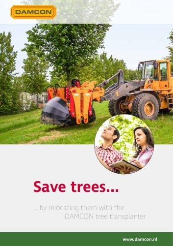 Damcon tree transplanter