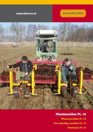 tree planting machine PL-10