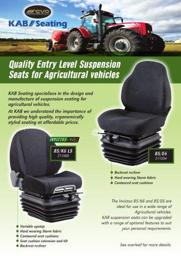 Suspension Seat Agriculture