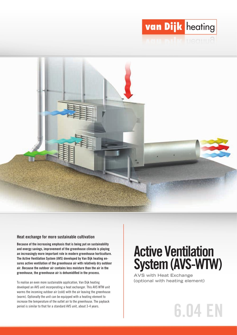 active ventilation system - van dijk heating b.v. - pdf catalogue