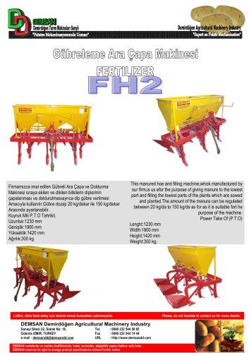 FH2 Fertilizer - DEMSAN DEMİRDÖĞEN - PDF Catalogs
