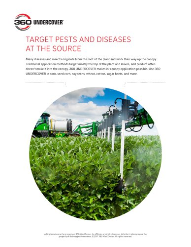 TARGET PESTS AND DISEASES AT THE SOURCE