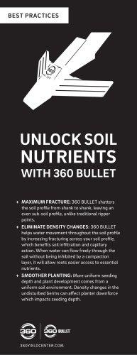UNLOCK SOIL NUTRIENTS WITH 360 BULLET