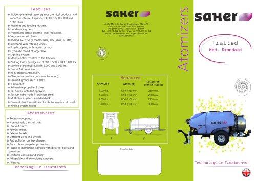 Trailed Atomizer Standard