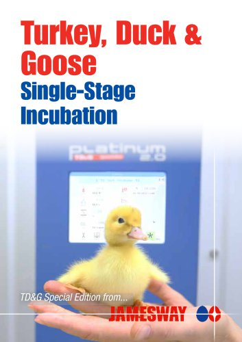 Turkey, Duck & Goose Single-Stage Incubation