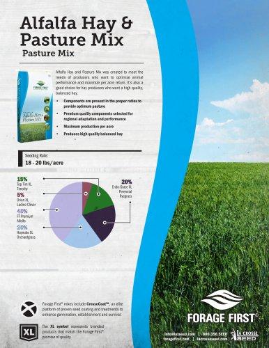 Alfalfa Hay & Pasture Mix