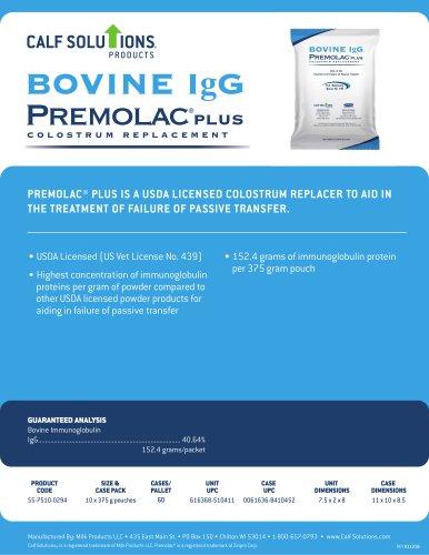 Premolac® PLUS Bovine IgG