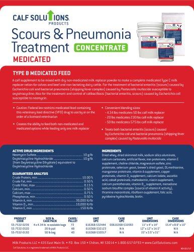 Scours & Pneumonia Trt Concentrate
