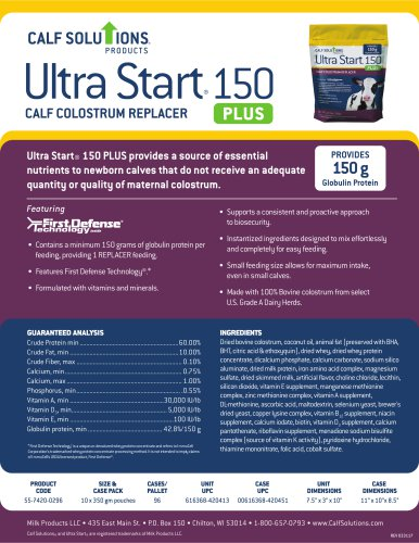 Ultra Start® 150 PLUS