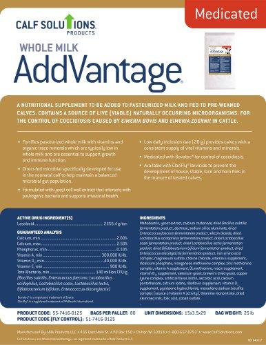 Whole Milk AddVantage®