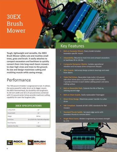 30EX Brush Flail Mower