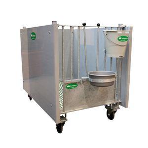 abrigo para pecuária   para bezerros   individual   em aço inoxidável 3169eee80557