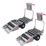 carrinho de transporte para carcaças / rebatível