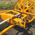 carretel enrolador para irrigação / hidráulico / montado em trator