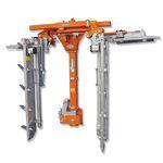 aparador de cerca viva hidráulico / montado / leve