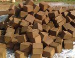 rejeitos de coco / fibra de coco / em bloco prensado / compacto