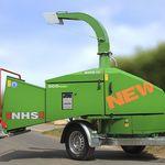 triturador de galhos a diesel / de arrasto / montado