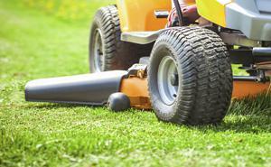 Straßenbau und Grünflächen