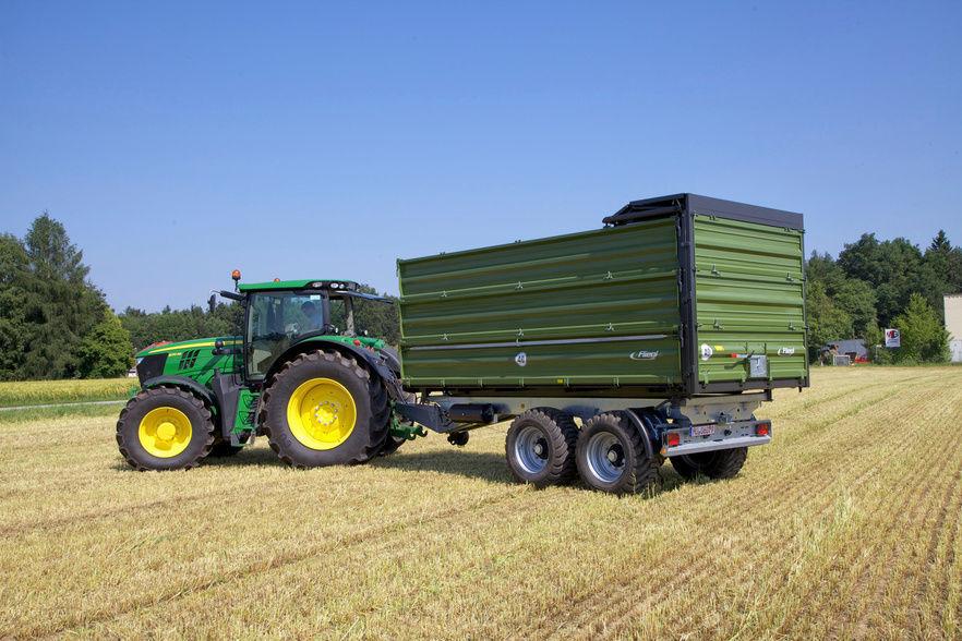 Lieblings Dreiseitenkipper-Anhänger / mit Kipper / 2-Achsen / für Getreide &PX_49