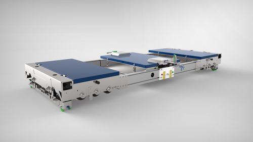 Transportwagen für Gewächshäuser / auf Rahmen