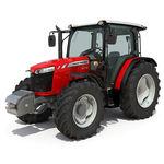 Traktor / mechanisches Getriebe / mit Kabine / Dreipunktanbau